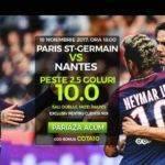 """Cota 10.00 pentru pariul ,,Peste 2,5 goluri"""" in meciul PSG vs Nantes"""