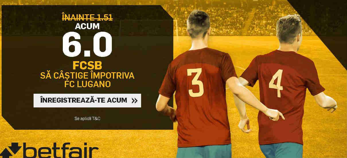 Cota 6.00 pentru FCSB in ultimul meci din grupele Europa League