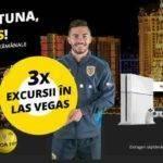 Cum poti castiga una din cele 3 excursii duble în Las Vegas (SUA) si multe alte premii