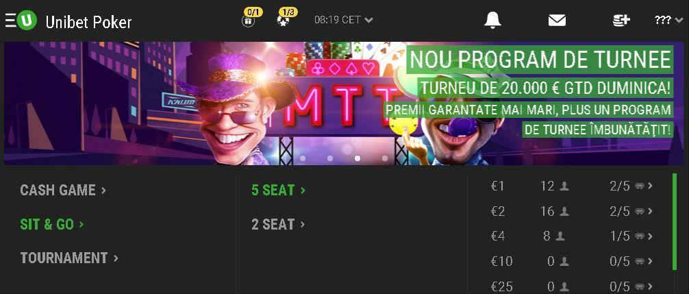 Joaca poker pe mobil si primesti doua tichete gratuite