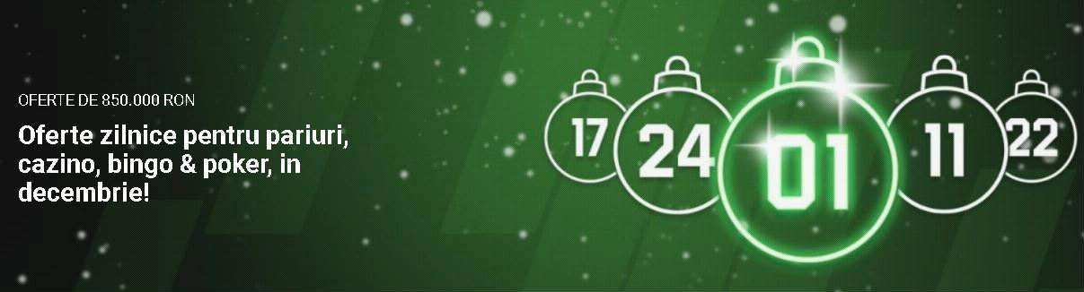 Profita de cotele speciale valabile doar vineri, 15 decembrie
