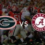 Ponturi NCAAF – Georgia Bulldogs vs Alabama – National Championship