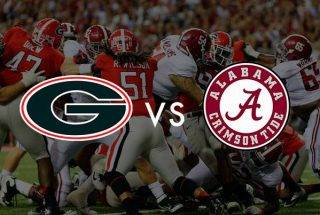Georgia Bulldogs vs Alabama Crimson Tide