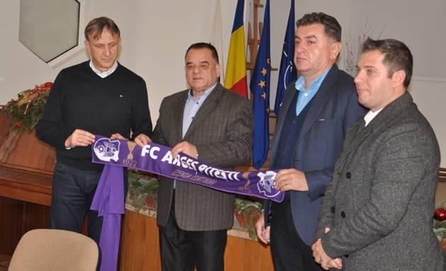 FC Arges si-a numit un nou antrenor