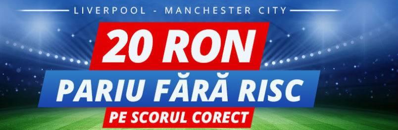 Pariaza fara risc la Liverpool – Manchester City