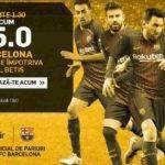 Cota de necrezut pentru Barcelona in etapa nr. 20 din La Liga