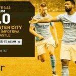 Cota 4.00 pentru Manchester City in partida cu Newcastle