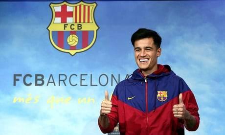 Coutinho a ajuns la Barcelona