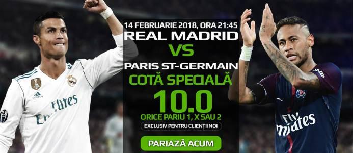 Rezultat final la cota 10 in Real Madrid – PSG