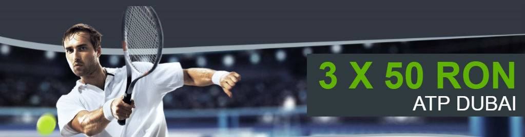 Obtine 3 freebeturi la turneul ATP din Dubai