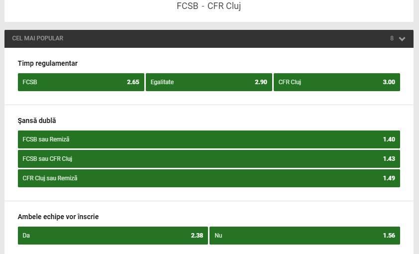 Fotbal Club FCSB - CFR 1907 Cluj (1 - 1) 29.04.2018  |Fcsb-cfr Cluj