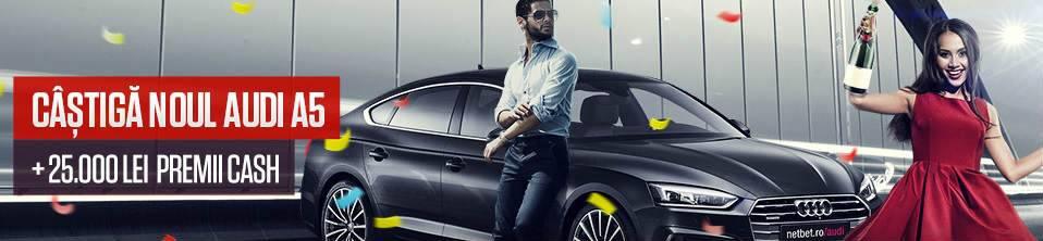Castiga un Audi jucand ruleta online