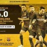 Pariaza la cota 4.00 pe victoria Barcelonei in partida cu Girona