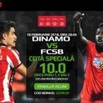 Pariaza la cota 10.00 pe orice rezultat final al derby-ului Dinamo vs FCSB