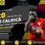 Lazio vs FCSB: Cota 20.00 pentru o calificare istorica