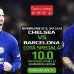 Pariaza la cota 10.00 pe Chelsea vs FC Barcelona