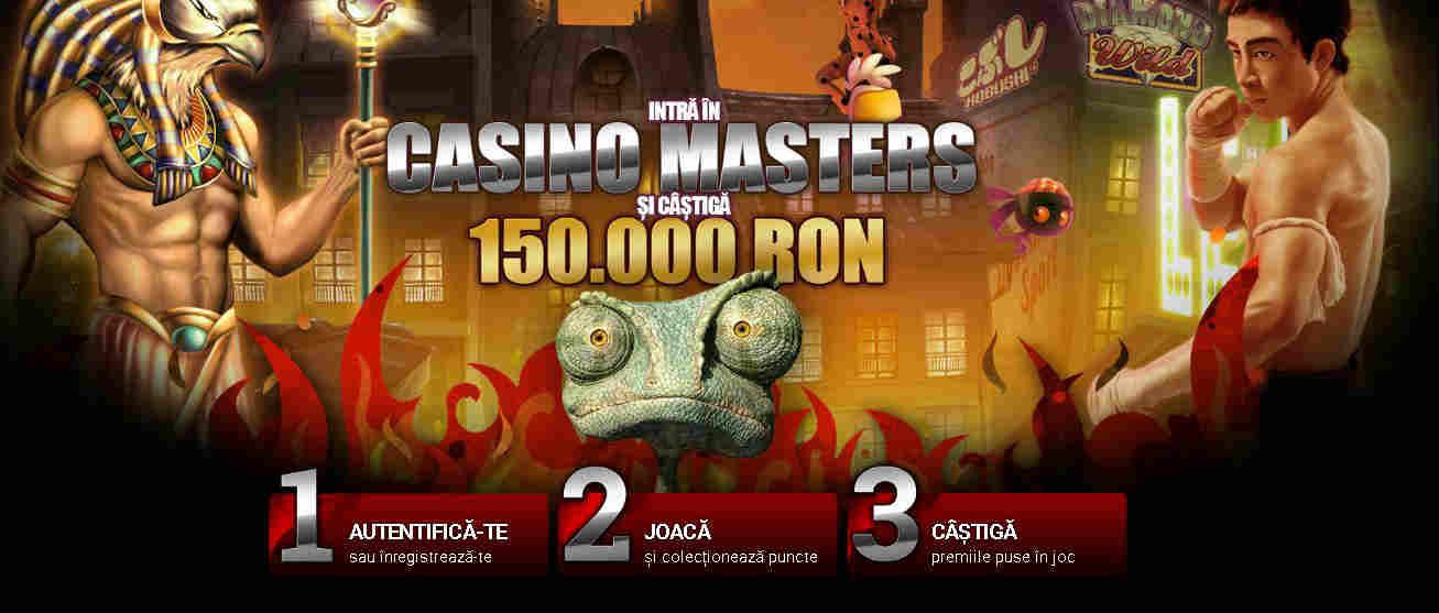 Amatorii de sloturi pot castiga o parte din cei 150.000 RON pusi la bataie de Winmasters