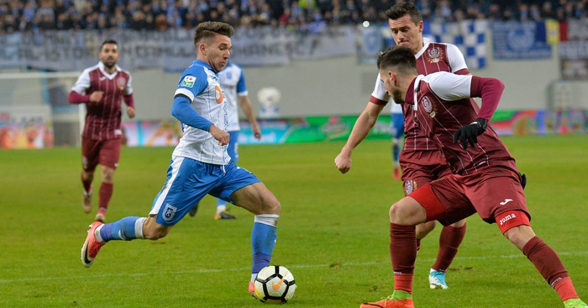 Ponturi Fotbal – CSU Craiova – CFR Cluj – Liga 1