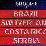 Campionatul Mondial din Rusia: Grupa E – Prezentare