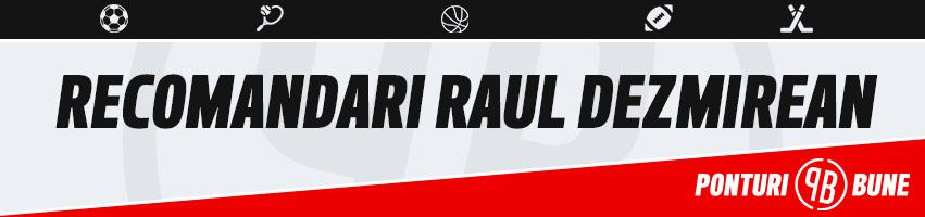 Recomandari – 16-04-2018 – Raul Dezmirean