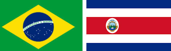 Brazilia vs Costa Rica