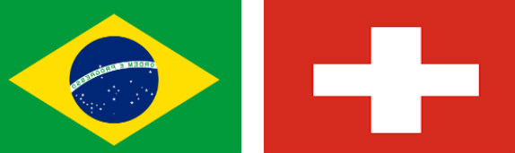 Brazilia vs Elvetia
