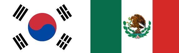 Coreea de Sud vs Mexic