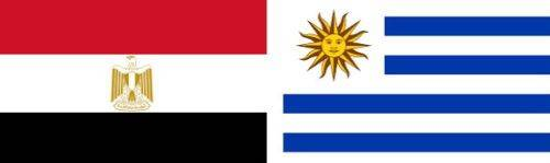 Egipt vs Uruguay