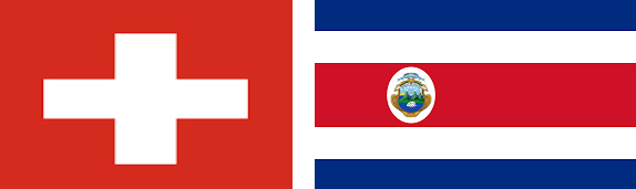 Elvetia vs Costa Rica