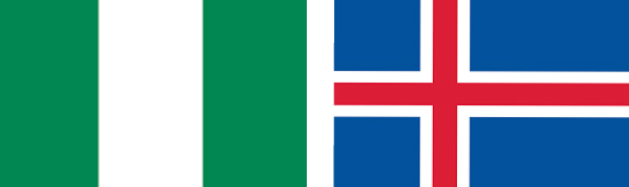 Nigeria vs Islanda