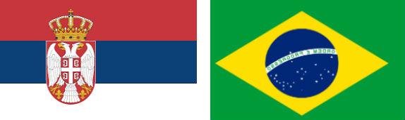 Serbia vs Brazilia