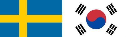 Suedia vs Coreea de Sud