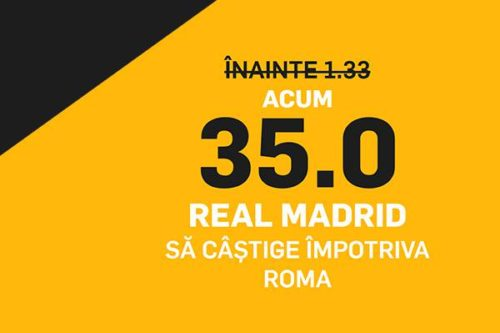 cota marita real as roma betfair