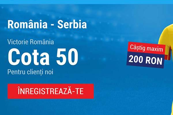 cota marita romania serbia sportingbet