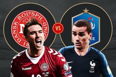 Danemarca vs Franta