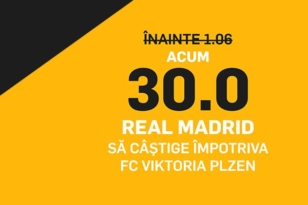 cota marita real madrid plzen betfair