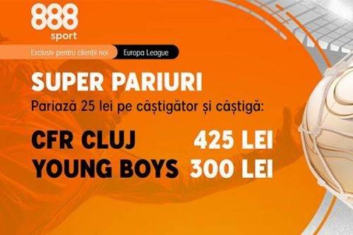 cote marite la 888 pentru cfr young boys 29