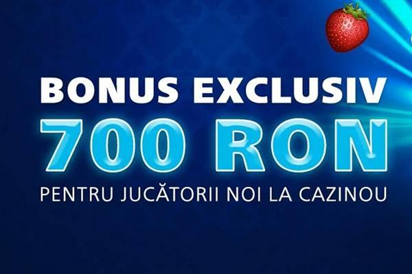 700 ron bonus cazino