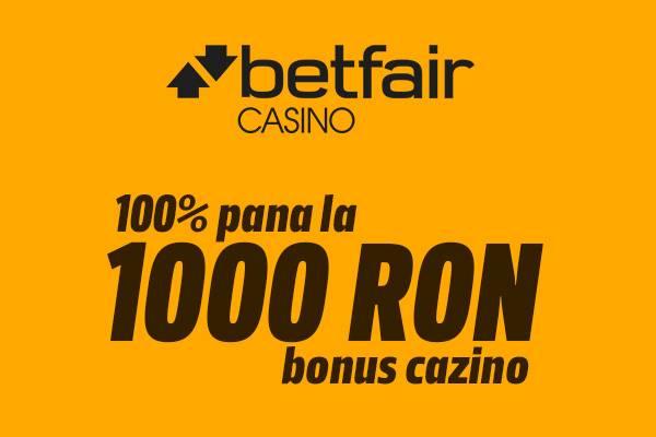 bonus cazino betfair