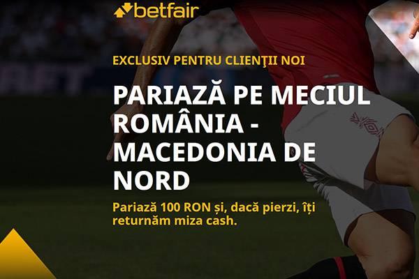 bonus 100 ron romania macedonia 25 betfair