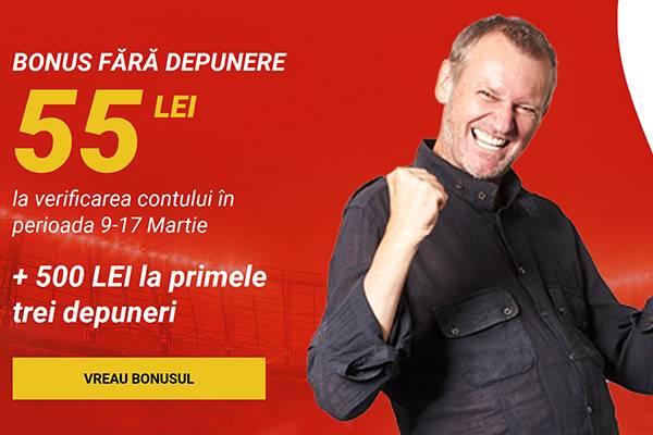 superbet 55 ron bonus