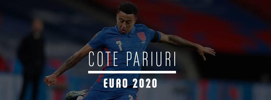 Cote pariuri Euro 2020
