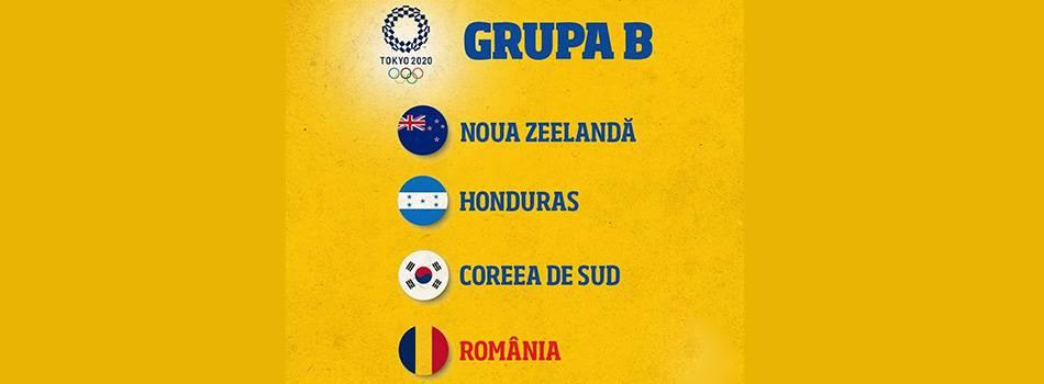 Romania si-a aflat adversarele de la turneul olimpic de fotbal