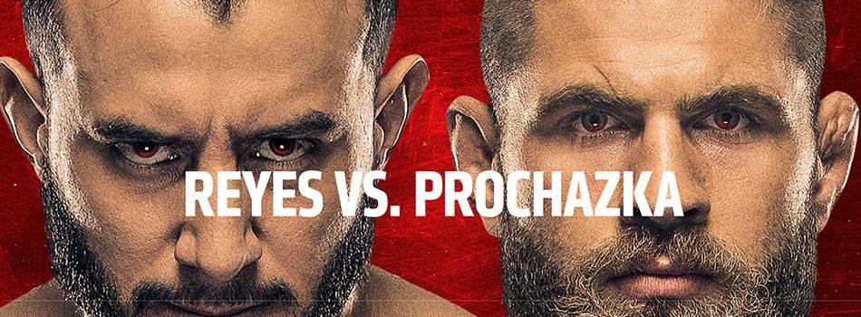 Ponturi UFC Reyes vs Prochazka 2-5-2021