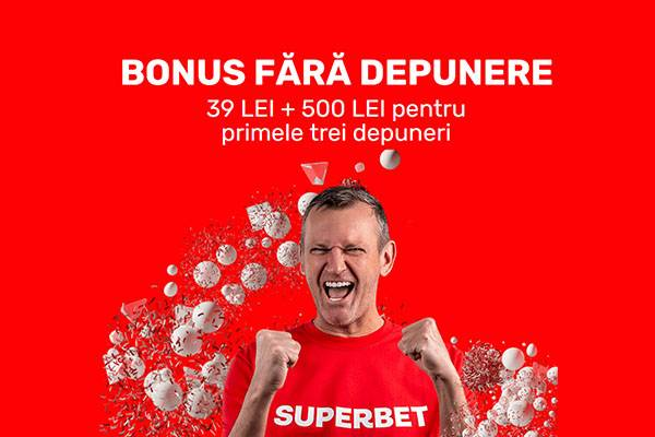 superbet bonus 39 ron fara depozit
