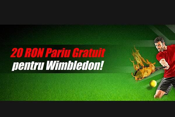20RON freebet wimbledon-wm2021