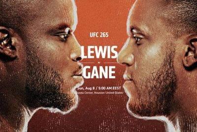 Ponturi UFC Lewis vs Gane 8-08-2021