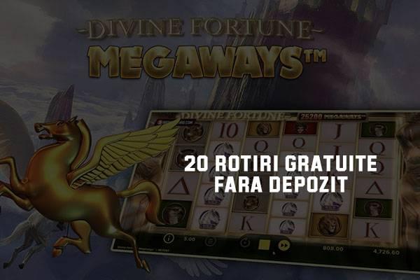 divine fortune unibet - rotiri luni