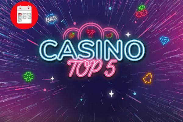 top 5 casino winmasters promo