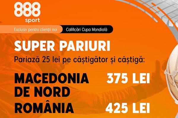 888 cote marite macedonia romania 8sept